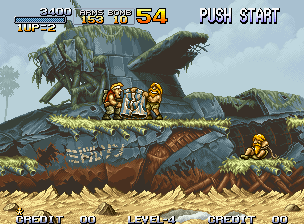 Metal Slug Shorts