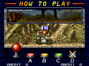 Metal Slug X instructions