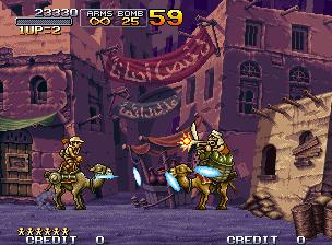 Metal Slug X camel