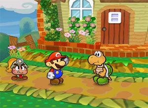 Paper Mario: Thousand Year Door Gamecube Screenshot