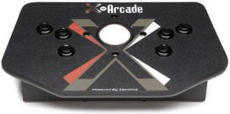 X-Arcade Controller With Trackball