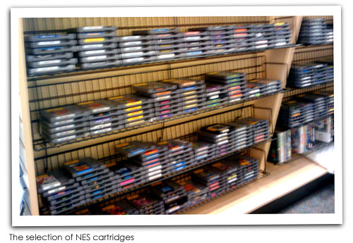 Vintage Stock NES Selection