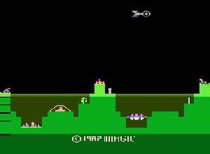 Atlantis II Atari 2600 Screenshot