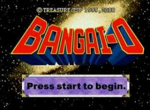Bangai-O Logo Screenshot