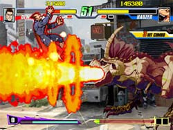 Capcom Fighting Evolution XBOX Screenshot