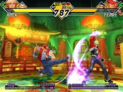 Capcom vs SNK 2 XBOX Screenshot