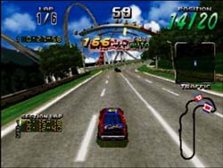 Daytona USA - Sega Saturn Screenshot