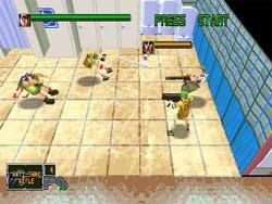 Die Hard Arcade - Sega Saturn Screenshot