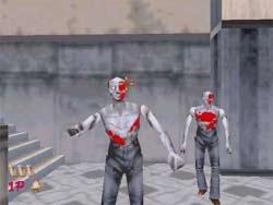 House of the Dead - Sega Saturn Screenshot