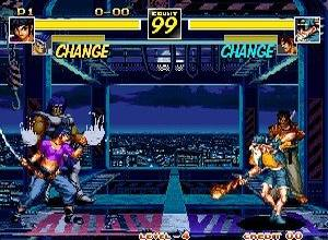 Kizuna Encounter Neo-Geo screenshot