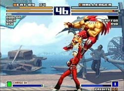 King of Fighters 2003 XBOX Screenshot