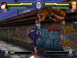 King of Fighters Maximum Impact XBOX Screenshot