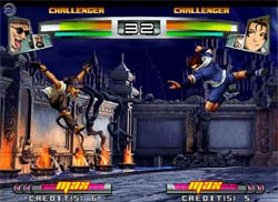 King of Fighters NeoWave XBOX Screenshot
