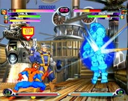 Marvel vs Capcom 2 Dreamcast Screenshot