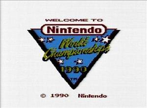 1990 Nintendo World Championships Tournament Cartridge screenshot
