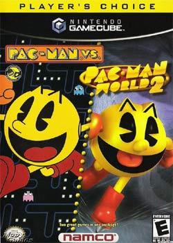 Pac-Man Versus Gamecube cover