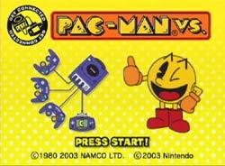 Pacman VS Gamecube screenshot