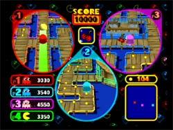 Pacman Versus Gamecube Screenshot