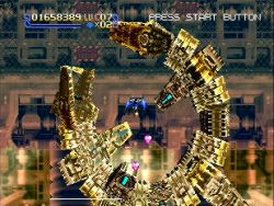 Radiant Silvergun - Sega Saturn Screenshot