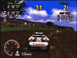 Sega Rally - Top Games Screenshot