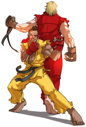 sf4 Yoshinori Ono Thinking Street Fighter V?