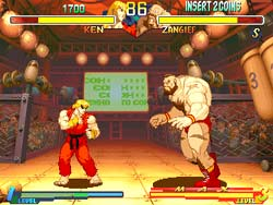 Street Fighter Alpha 2 - Sega Saturn Screenshot