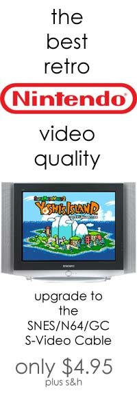 Get The Best SNES Video Quality With the SNES S-Video Cable