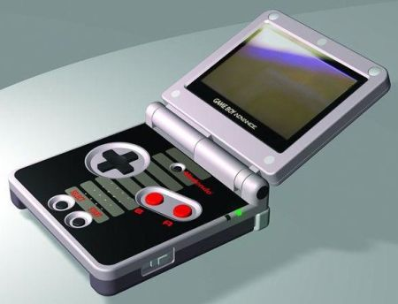 """A cool blast back to the past, this retro Game Boy Advance SP Classic NES"