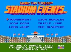 Stadium Events Screenshot