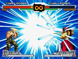 SNK vs Capcom  XBOX Screenshot