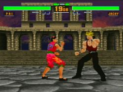 Virtua Fighter 2 - Sega Saturn Screenshot