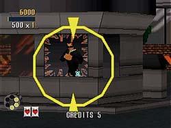Virtua Cop - Sega Saturn Screenshot