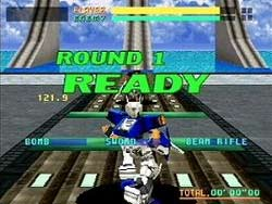 Virtual On - Sega Saturn Screenshot