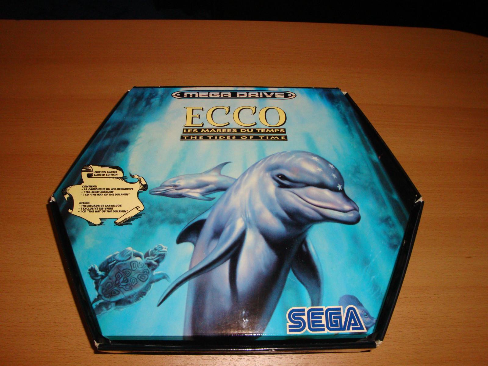 Sega Genesis / Megadrive Ecco The Dolphin Box Set (Photos