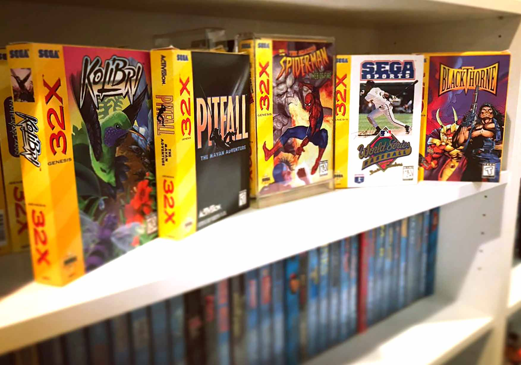 The Rarest and Most Valuable Sega 32X Games - RetroGaming