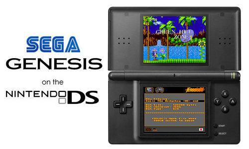 The Best Sega Genesis Emulator for the DS - jEnesisDS - RetroGaming