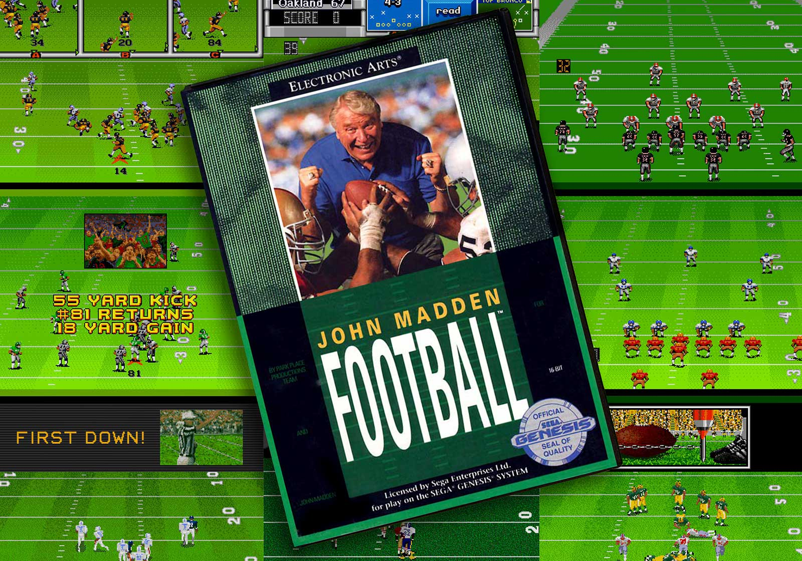 Madden Football History and EA's Other Notable Genesis Football Games