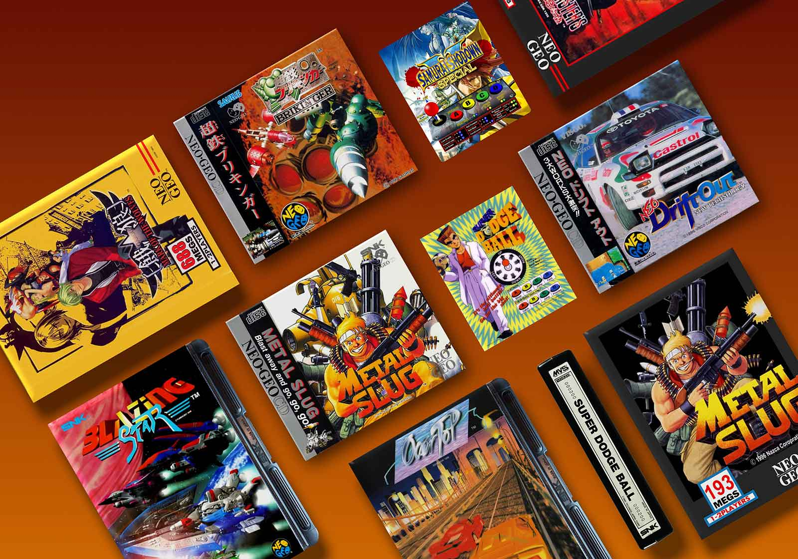 The Rarest and Most Valuable Neo-Geo Games
