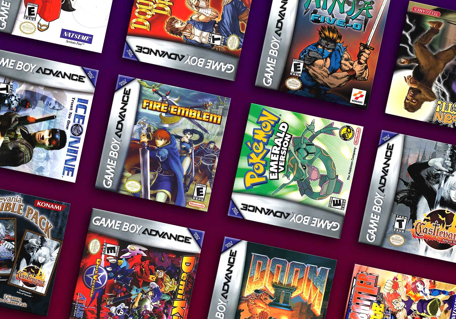 The Rarest & Most Valuable Game Boy Advance (GBA) Games