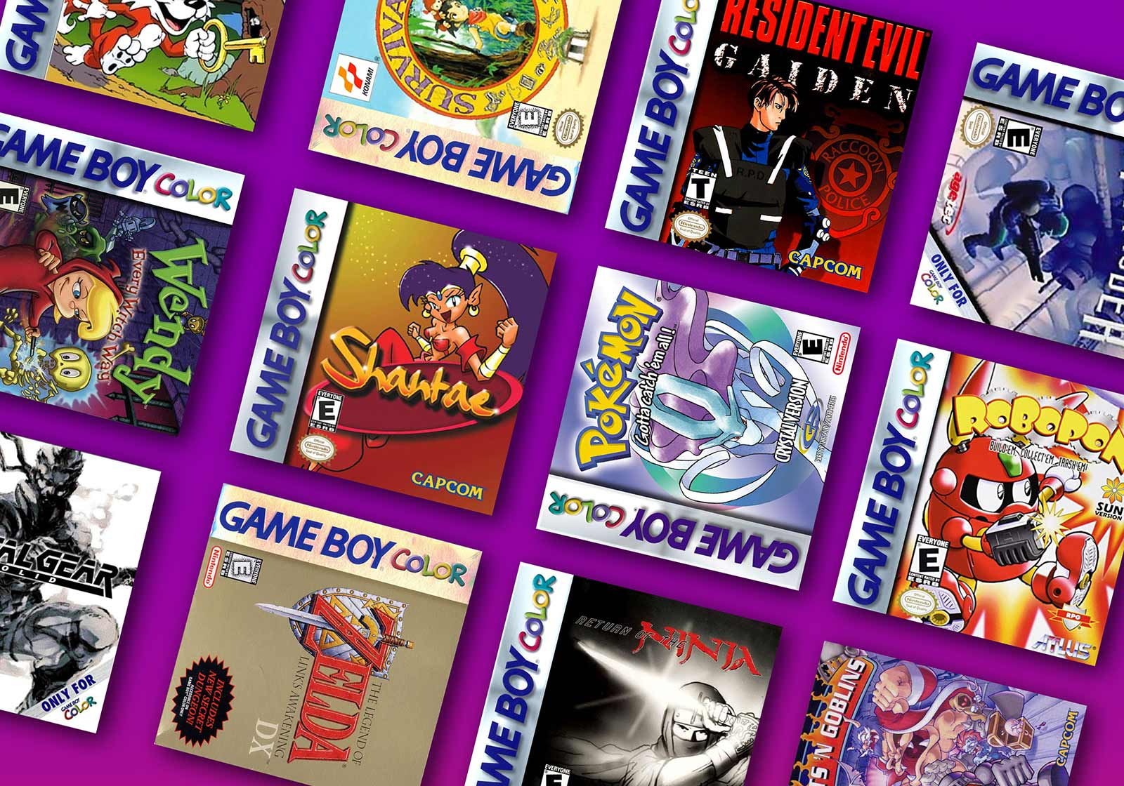 The Rarest and Most Valuable Gameboy Color Games