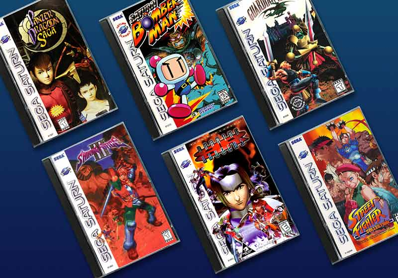 The Rarest and Most Valuable Sega Saturn Games - RetroGaming