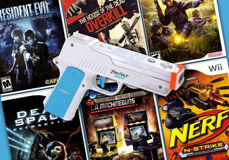 The Wii Light Gun Games On Rail Shooters Library Retrogaming