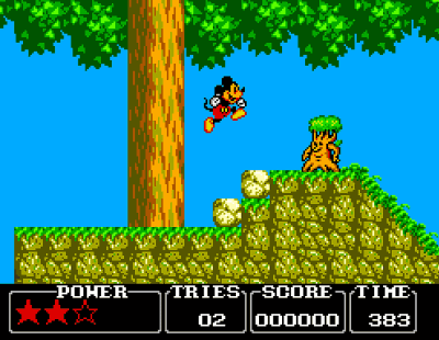 Castle of Illusion with Mickey Mouse Screenshot