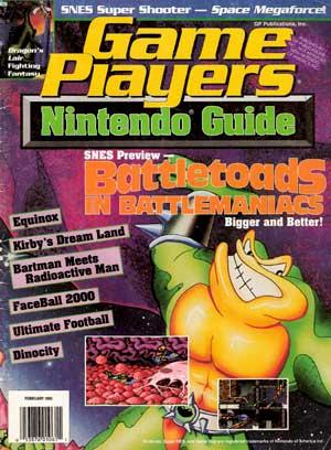 PDF: Game Players Magazine February 1993 - RetroGaming with Racketboy