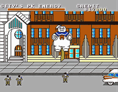 Ghostbuster Master System Screenshot