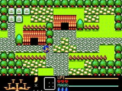 Golden Axe Warrior Screenshot
