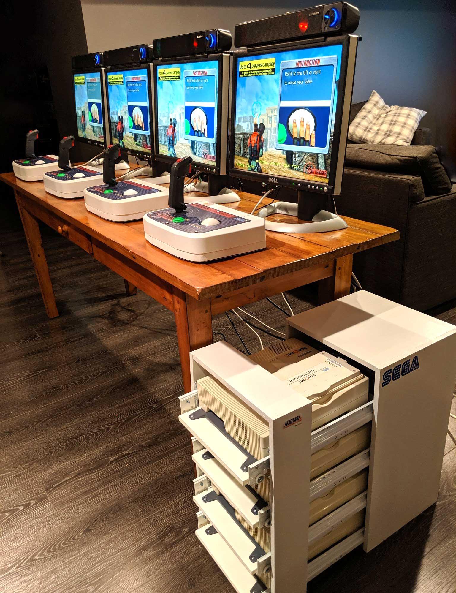 Building Modern Portable+Multiplayer Arcade Setups (Sega NAOMI & More)