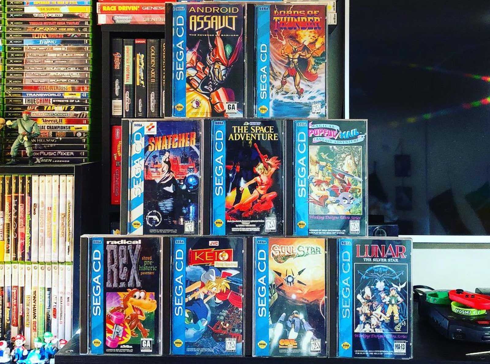 The Rarest and Most Valuable Sega CD Games - RetroGaming with Racketboy