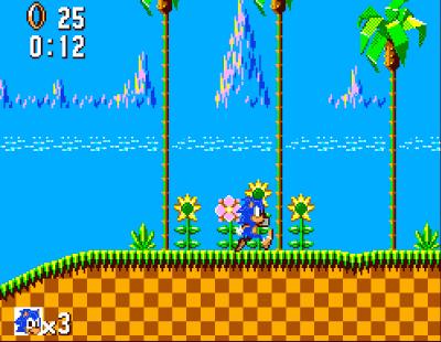 Sonic Master System Screenshot