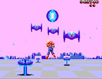 Space Harrier 3D Screenshot